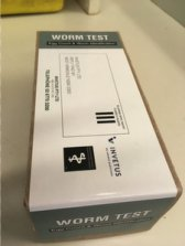 Figure 2. Worm Test kit