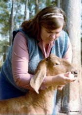 Well-known Australian goat veterinarian, Dr Sandra Baxendell, has co-authored the new information for goats in WormBoss